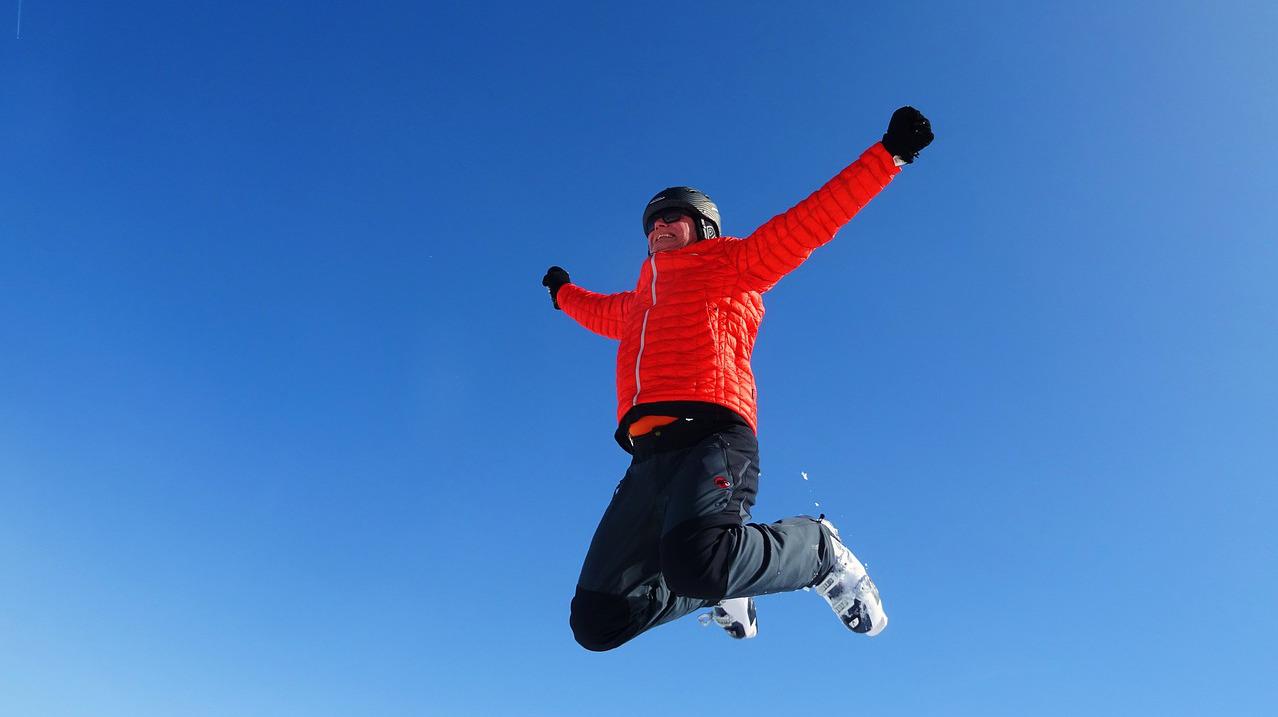 pratique sportive ski