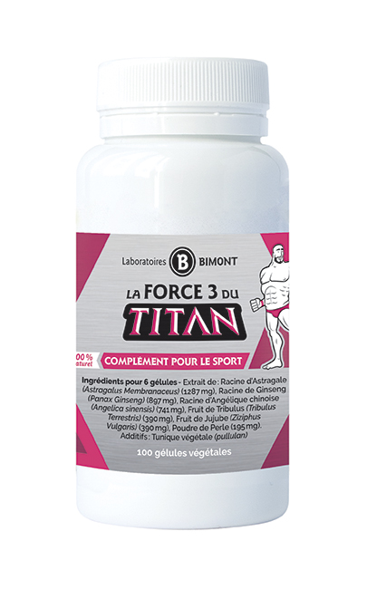 Force 3 du titan - booster 3 en 1 sportifs