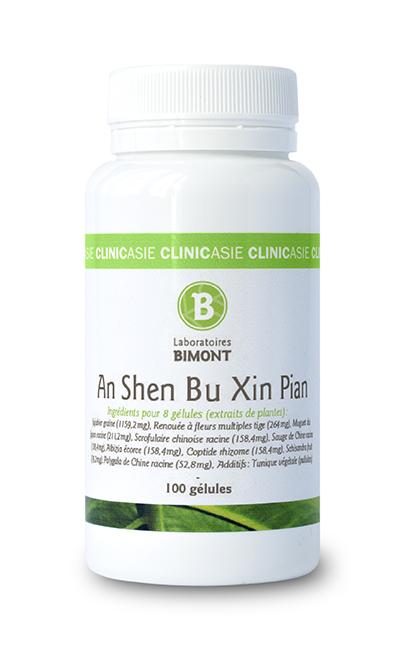 Le complément alimentaire An Shen Bu Xin Pian