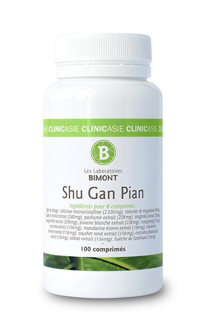 Shu Gan Pian, complément alimentaire