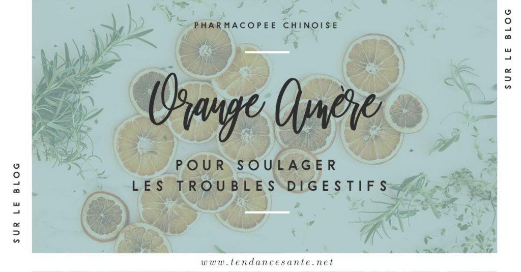 Les bienfaits de l'orange amère en médecine chinoise