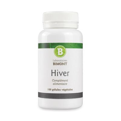 Hiver, complément alimentaire 5 saisons des laboratoires Bimont